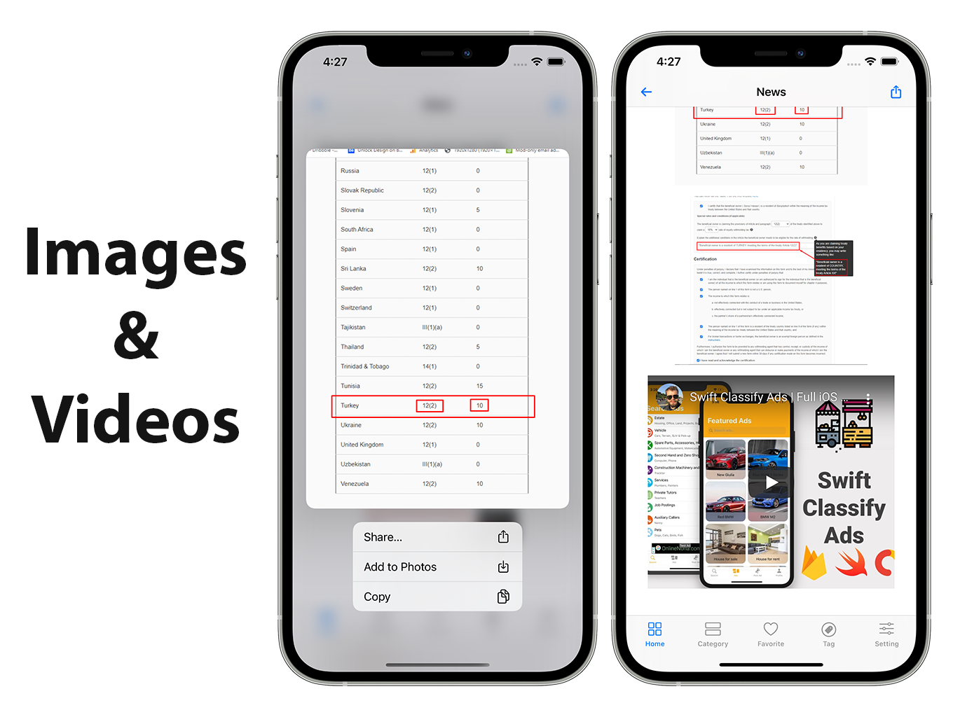 Blog and News SwiftUI iOS App for WordPress Site with AdMob, Firebase Push Notification and Widget - 10