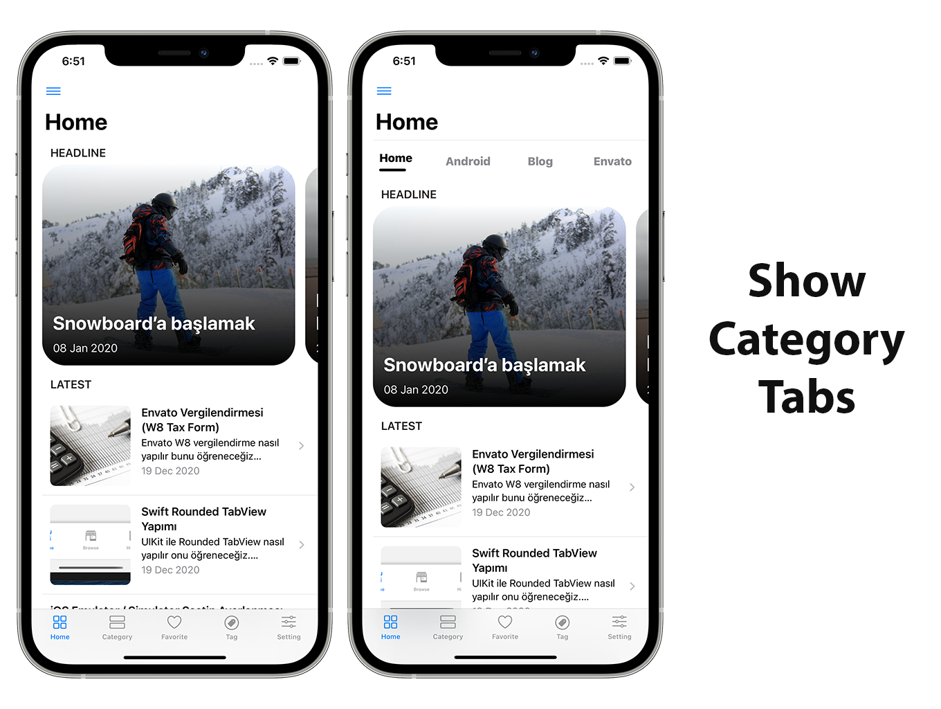 Blog and News SwiftUI iOS App for WordPress Site with AdMob, Firebase Push Notification and Widget - 9