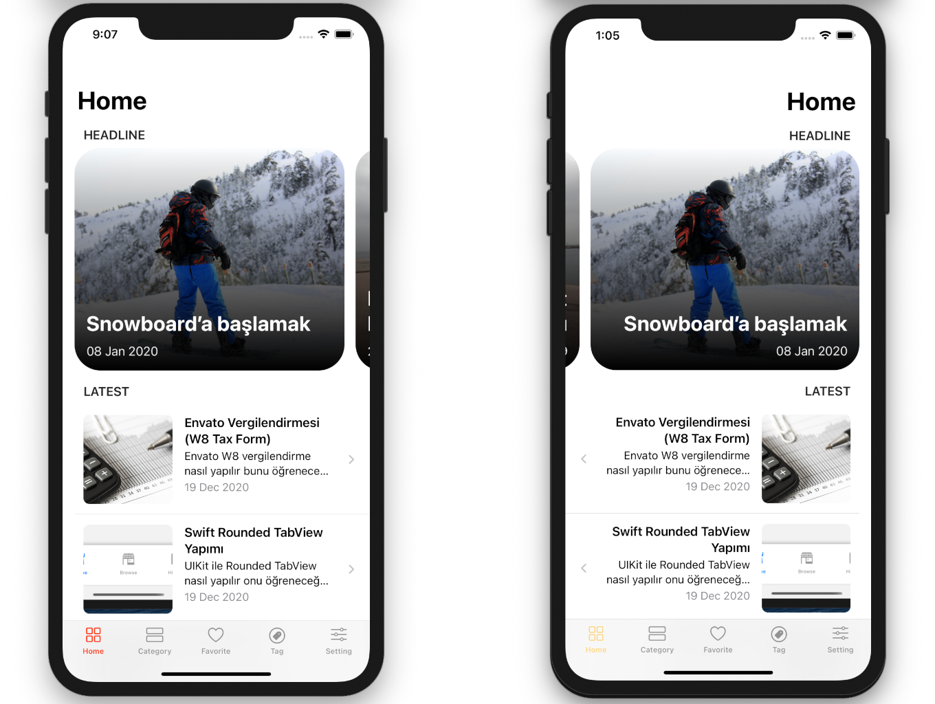 Blog and News SwiftUI iOS App for WordPress Site with AdMob, Firebase Push Notification and Widget - 14